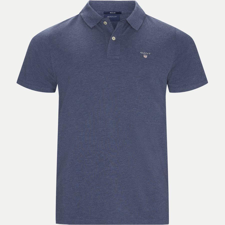 2201 S19 - T-shirts - Regular - DENIM MELANGE - 1